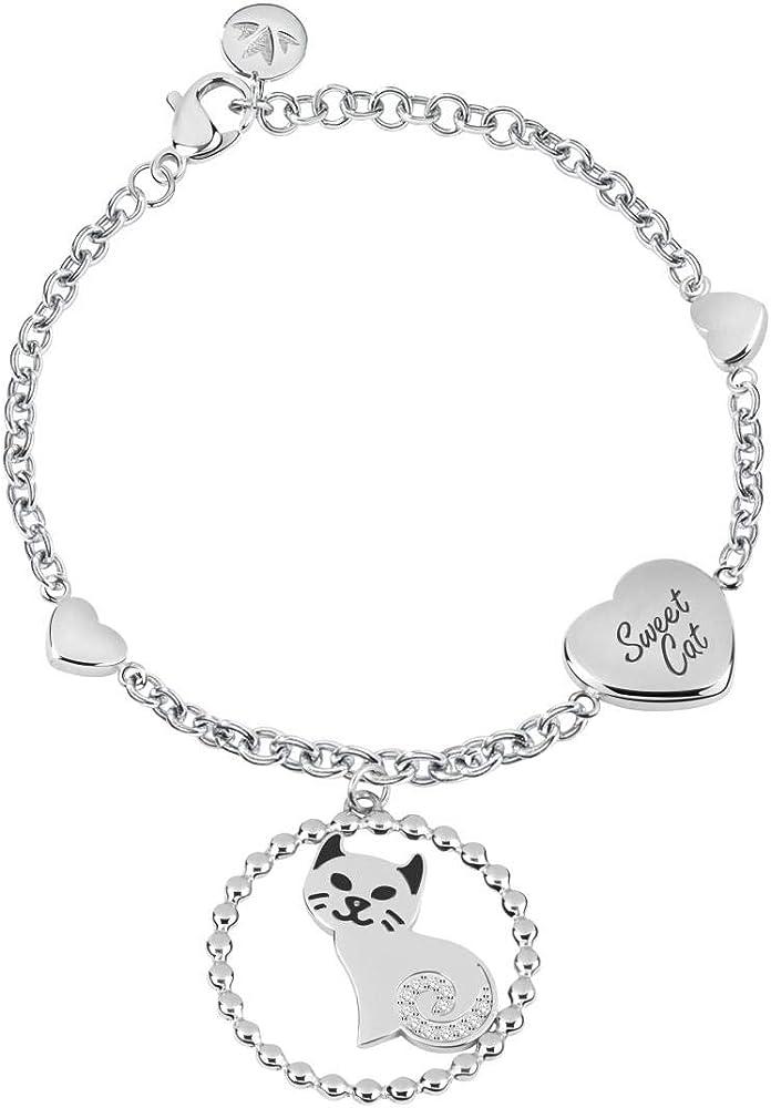 Morellato collezione talismani ,bracciale da donna in acciaio inossidabile 8033288858478