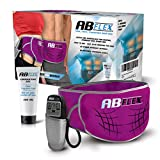 ABFLEX Ab Toning Belt for Developed Stomach Muscles, Remote