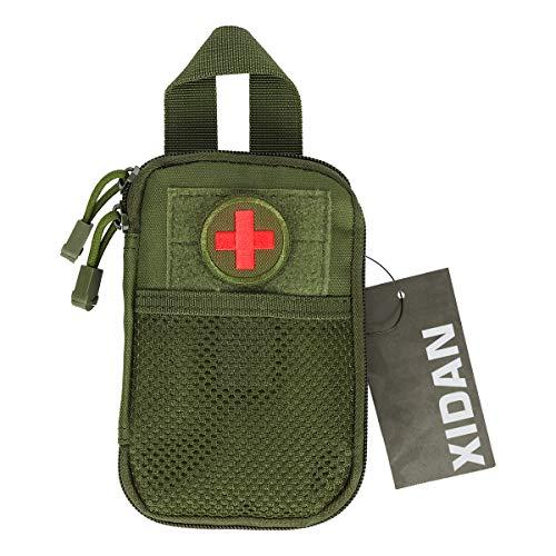 Shidan Nylon Taktisch MOLLE EDC Kompakt Organizer-Tasche, Medizinisch Erste Hilfe EDC Pouch EMT-Tasche