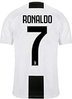 41abd05c88fd5 SALLARM Juventus   7 T-Shirt Maillot de Football Cristiano Ronaldo 7 CR7  Homme Maillot