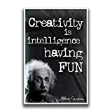 ✅ Classroom Posters that are Inspirational, Motivational, Clever, Sometimes Cute, Lighthearted, and Easy to send a message to students. Perfect Gift idea for teachers or kids rooms. Small enough to easily fit in classrooms, recommend laminating upon ...