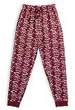 HARRY POTTER Pantalones de Pijama para Mujer Hombre, Hogwarts Pijamas Invierno Mujer 100% Algodón Ropa de Dormir, Pantalón Largo Cómodo, Regalos Niños Niñas Mujeres Hombres (M)