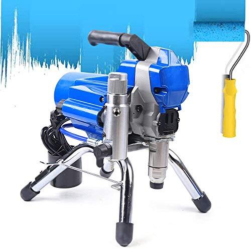 Generic Airless Hochdruck Farbspritzgerät 2200 W, Zephyri tragbares professionelles Farbspritzsystem zum Sprühen von 1,8 l/min auf die Wand