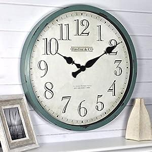514q38IxMKL._SS300_ Coastal Wall Clocks & Beach Wall Clocks