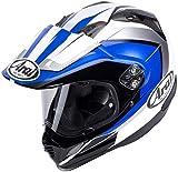 Arai - Casco de Moto Tour-X 4, Color Azul eléctrico