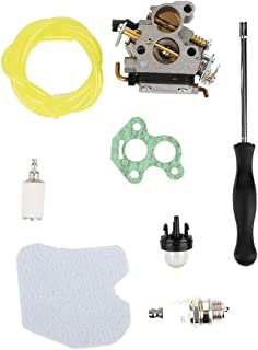 GAESHOW Kit de Repuesto de carburador de Motosierra Apto para Husqvarna 235 235E 236 240 240E N5A6 Aluminio Fundido a presión