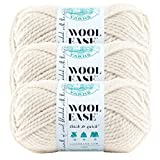 (3 Pack) Lion Brand Yarn 640-099 Wool-Ease Thick and Quick Yarn, 97 Meters, Fisherman