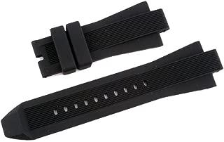 New Soft Black Silicone Rubber Watch Band Strap For Mich. Kors MK 8152 MK8325 MK9019 MK9026