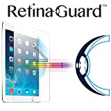 RetinaGuard iPad Air/Air2/Pro9.7 ブルーライト90%カット強化ガラスフィルム