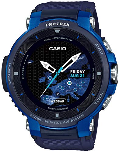 [Casio] CASIO smart outdoor watch Proto Rec smart GPS equipped WSD-F30-BU Mens