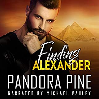 Finding Alexander audiobook cover art