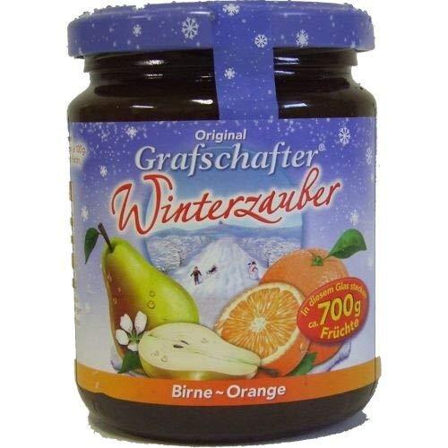 Grafschafter Winterzauber Fruchtaufstrich Birne-Orange (320 Gramm)
