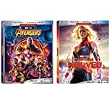 Captain Marvel / Avengers Infinity War 2-Pack Blu-ray Collection (Marvel Studios Multi-Screen Edition Double Feature)