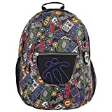 TOTTO Mochila Pencil Mochila Tipo Casual, 40 cm, 25 litros, Multicolor