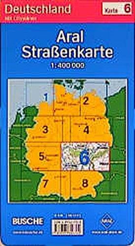 Aral Strassenkarte Deutschland: 1:400000