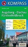 Augsburg, Dachau, Fürstenfeldbruck: Wander- und Rad. GPS-genau. 1:50.000