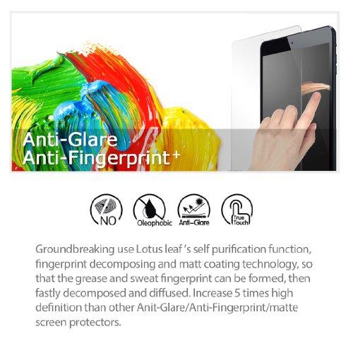 iCarez [Anti-Glare Matte Screen Protector for Microsoft Surface Book 2 (2017) 13.5-Inch Easy to Install [Reduce Fingerprint Paper-Like Feeling]