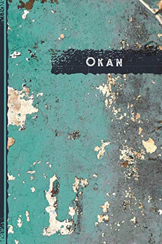 Okan Journal: The Best Vintage Retro Gift for Okan, Elegant Cover, Practical 100 Lined Timeline Pages, 6