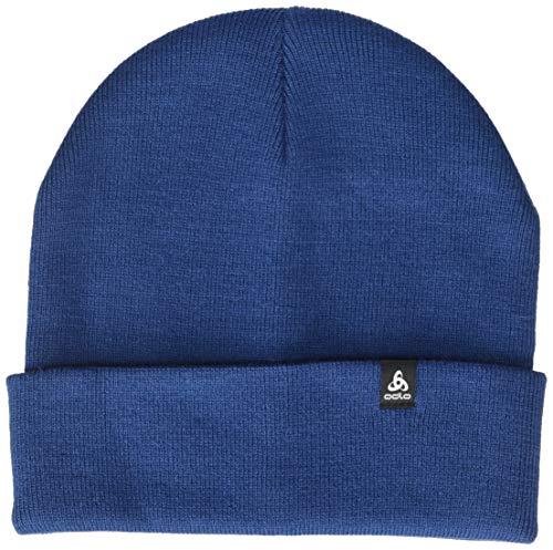 Odlo Skadi Bonnet Mixte Adulte, Estate Blue, FR Unique (Taille Fabricant : -)