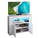 Dripex Mobile Porta TV con Luci LED Armadio per Supporto la TV...
