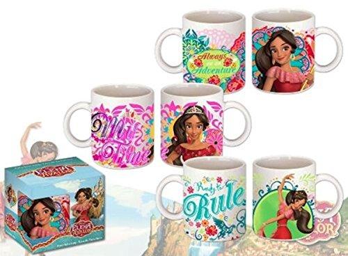 Kids Euroswan Taza en Caja Regalo, Estampado Avalor de Elena, Porcelana, Multicolor, 15x10x5 cm