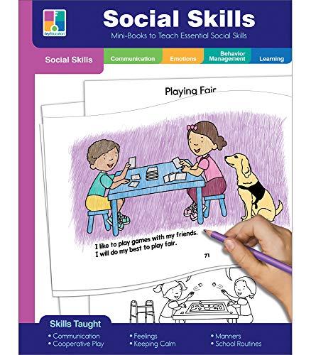 Key Education Social Skills Matter!, 80 Social Narratives and Activities for Making Friends, Sharing, Cooperative Play, Feelings, PreK—2nd Grade (384 pgs)