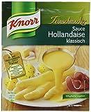 Knorr Feinschmecker Hollandaise klassisch Soße, 6er-Pack (6 x 250 ml)