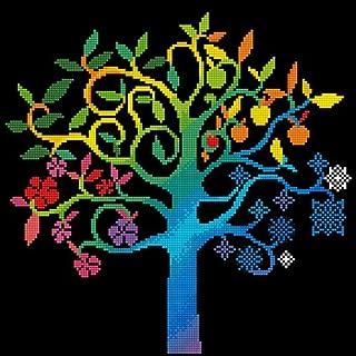 DIAMOND DOTZ Malowanie, zestaw pośredni, DD8, drzewo życzeń