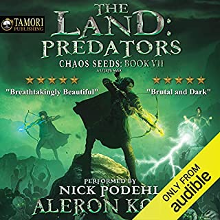 Page de couverture de The Land: Predators: A LitRPG Saga