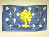 AZ FLAG Bandera del Reino DE Galicia 409-1833 150x90cm para Palo - Bandera GALLEGA Antigua 90 x 150 cm