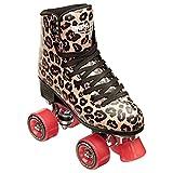 Impala Sidewalk Womens Roller Skates - Leopard/Red - 7