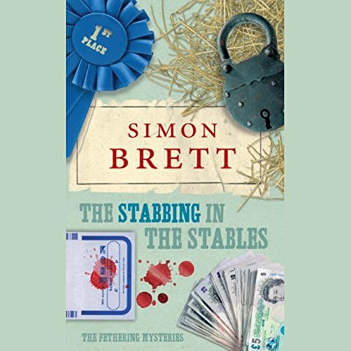 The Stabbing in the Stables audiobook cover art