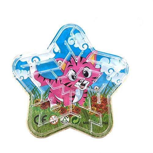 TOYMYTOY 12pcs Kugel Labyrinth Maze Spielzeug Kinder Geduldsspiel Labyrinth (Zufällig)