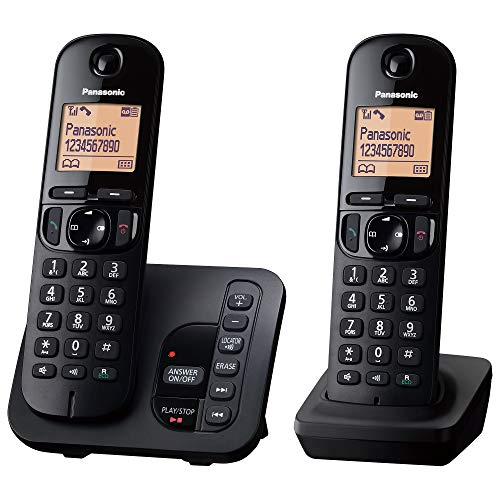 Panasonic KX-TGC222EB DECT Cordless Phone with Answering...
