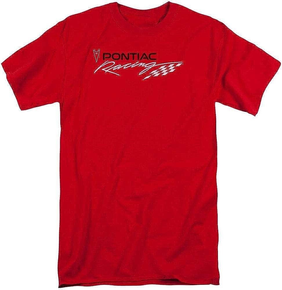 Pontiac Red Pontiac Racing Adult Tall Fit T-Shirt