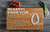 CADO LTD Elastic Ties/Loops/Strings Poultry/Twine for Chicken/Rotisserie Ties/Turkey/Meat/Food Cooking Rubber Bands,5 inches long WHITE, (100) A200