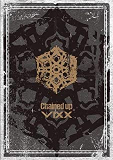 Vixx 2nd Album Chained up CD+Photobook+Photocard+Sticker+Folded Poster+KPOP Idol Mask+Extra Photocard (Freedom ver)
