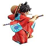 Banpresto. One Piece - Monkey D. Luffy Rubber Wanokuni King of Artist Figure