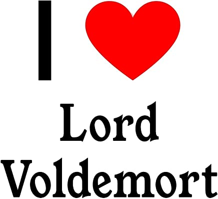 I Love Lord Voldemort: Lord Voldemort Designer Notebook