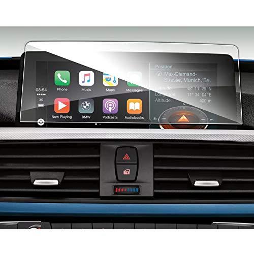 SHAOHAO Protector de pantalla de navegación para BMW Serie 1, 2, 3, 4, X2, X3, X4, GPS, transparente, resistente a los arañazos, cristal templado 9H antihuellas