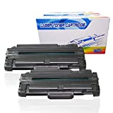 Inktoneram Compatible Toner Cartridges Replacement for Samsung D105L MLT-D105L MLTD105L SCX-4600 SCX-4623F SCX-4623FN SF-650 SF-650P ML-1910 ML-1915 ML-2525 ML-2525W ML-2580N (Black, 2-Pack)