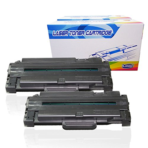 Inktoneram Compatible Toner Cartridges Replacement for Samsung D105L MLT-D105L MLTD105L SCX-4600 SCX-4623F SCX-4623FN SF-650 SF-650P ML-1910 ML-1915 ML-2525 ML-2525W ML-2580N (Black, 2-Pack)