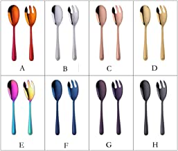 Cooking spoon Kitchen Spoon Stainless Steel Golden Large Big Spoons Forks Utensils Creative Long Handle Cutlery coffee spo...