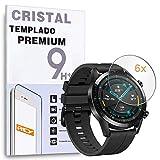 Protector de Pantalla para Huawei Watch GT 2 42mm - Watch GT - Watch GT Active, Reloj SmartWatch, (Pack 6X)
