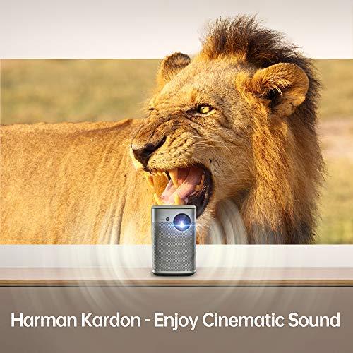 XGIMI Halo LED 1080P Full HD Proiettore Portatile Intelligente AF 800 ANSI Lumen Android TV 9.0 Google Assistant 3D Videoproiettore Harman / Kardon Altoparlante TV Box / PS4 / Smartphone