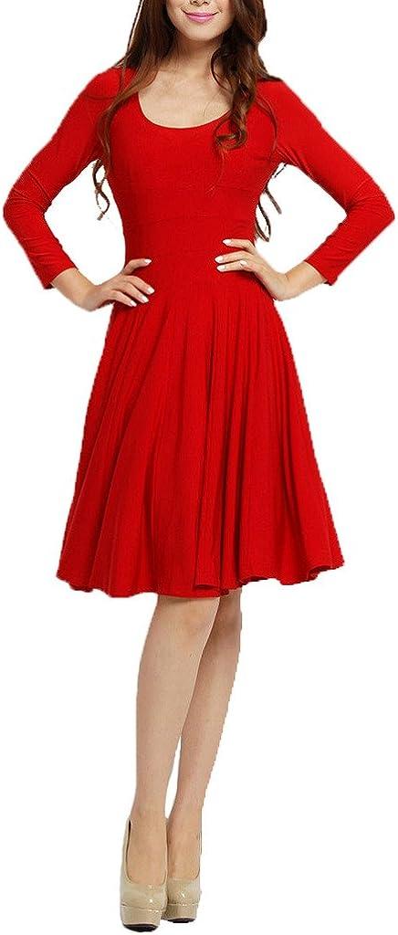 Angel&Lily 3 Colors Handmade Casual Jersey Cotton Blend Dress Plus 1x-10x (SZ 16-52)