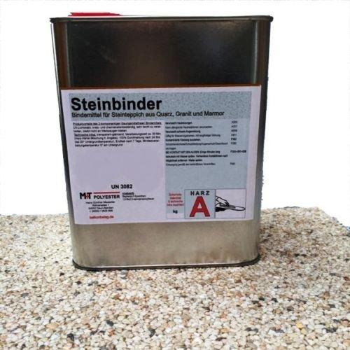 2K 1,2 kg Steinbinder Bindemittel PROFI Steinteppich für Marmor Quarz INNEN