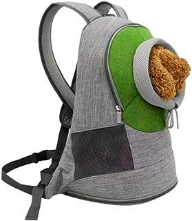 Double Shoulder Pet Cage Portable Pet Travel Bag Good Breathability Comfort Multicolor Optional CQOZ (Color : Green, Size : 33×22×44cm)