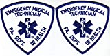 United States Embroidered Patch for Man and Woman US Army Pennsylvania Emergency Medical Technician 2 Patches PA Dept of Health EMT EMS