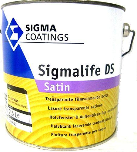 Sigma Sigmalife DS 2.5l Dickschichtlasur Teak DS Holzlasur satin